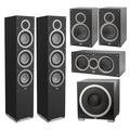 Комплект акустики 5.1 ELAC Debut F6 + B6 + C5 + S12EQ