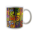 Кружка Happy Mondays - Dayglo Logo