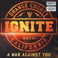 Виниловая пластинка IGNITE - A WAR AGAINST YOU (LP + CD)