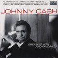 Виниловая пластинка JOHNNY CASH - GREATEST HITS AND FAVORITES (2 LP)