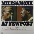 Виниловая пластинка MILES DAVIS - MILES AND MONK AT NEWPORT (180 GR)