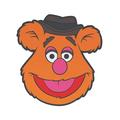 Подставка Muppets - Fozzie Bear