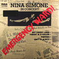 Виниловая пластинка NINA SIMONE - IN CONCERT - EMERGENCY WARD! (180 GR)