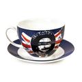 Чашка с блюдцем Sex Pistols - God Save the Queen