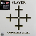 Виниловая пластинка SLAYER - GOD HATES US ALL (180 GR)