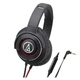 Охватывающие наушники Audio-Technica ATH-WS770iS Black/Red