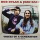 Виниловая пластинка BOB DYLAN & JOAN BAEZ-VOICES OF A GENERATION (2 LP, 180 GR)