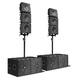 Комплект профессиональной акустики K-array KRX802 Black