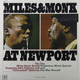Виниловая пластинка MILES DAVIS - MILES AND MONK AT NEWPORT