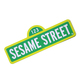 Стальной знак Sesame Street - Wall Plaque