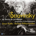 Виниловая пластинка STRAVINSKY - THE RITE OF THE SPRING. SYMPHONIES OF WIND INSTRUMENTS
