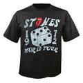 Футболка мужская The Rolling Stones - Dice Tour