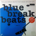 Виниловая пластинка VARIOUS ARTISTS - BLUE BREAK BEATS VOL.1 (2 LP, COLOURED)