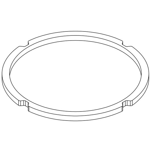 Уплотняющее кольцо 185-206 mm (4 отверстия)