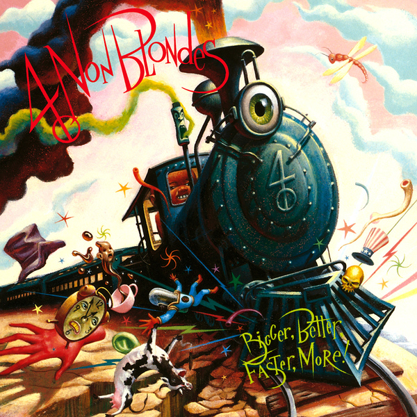 купить 4 Non Blondes 4 Non Blondes - Bigger, Better, Faster, More! в интернет-магазине