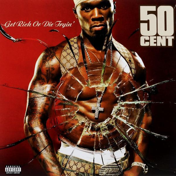 50 Cent 50 Cent - Get Rich Or Die Tryin' (2 Lp, Colour) 50 cent vs eminem 2 dvd