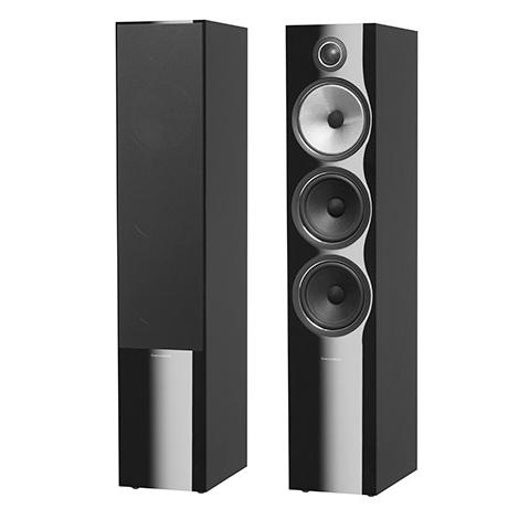 Напольная акустика B&W 703 S2 Black Gloss