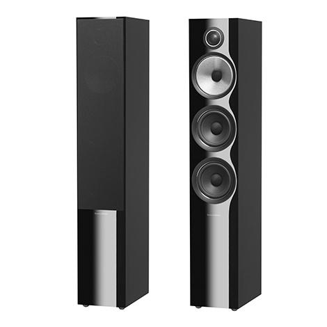 Напольная акустика B&W 704 S2 Black Gloss