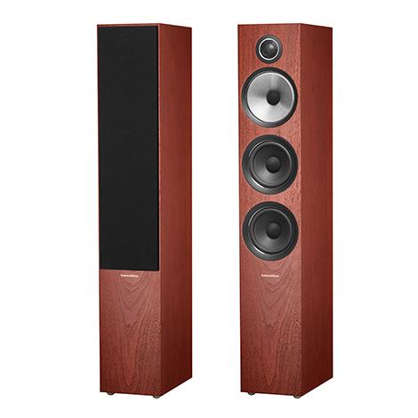 Напольная акустика B&W 704 S2 Rosenut (уценённый товар)