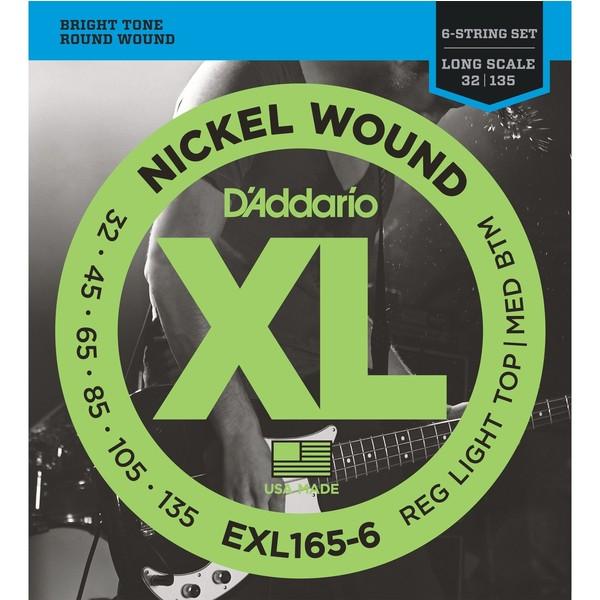 лучшая цена Гитарные струны D'Addario EXL165-6 (для бас-гитары)
