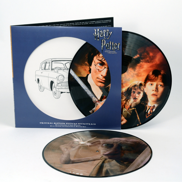 Саундтрек Саундтрек - Harry Potter And The Chamber Of Secrets (2 Lp, Picture) саундтрек саундтрек spider man into the spider verse 2 lp picture