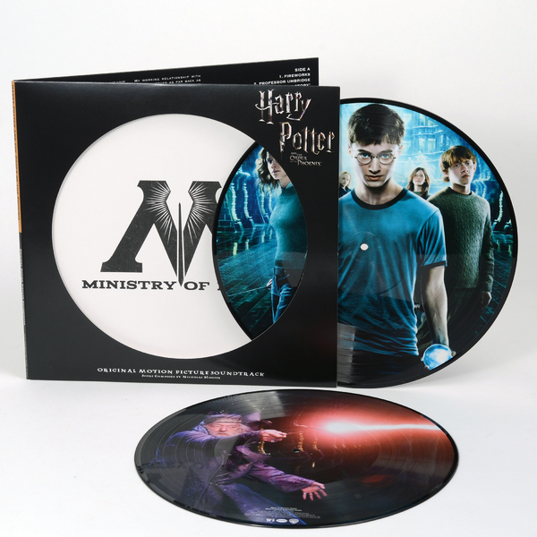 Саундтрек Саундтрек - Harry Potter And The Order Of The Phoenix (2 Lp, Picture) саундтрек саундтрек spider man into the spider verse 2 lp picture