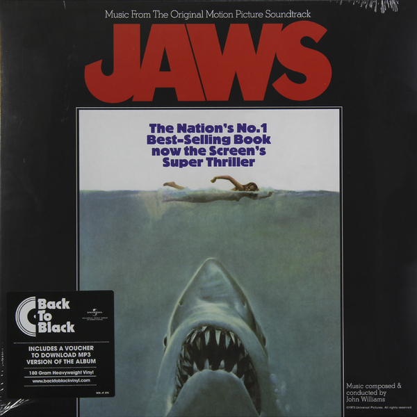 лучшая цена Саундтрек Саундтрек - Jaws (180 Gr)