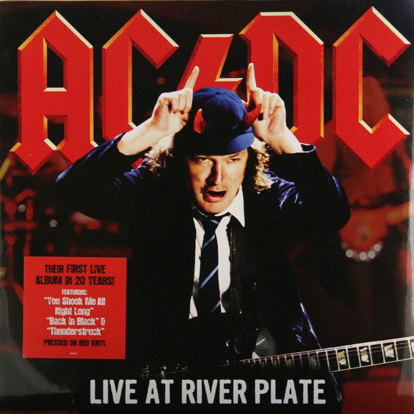 AC/DC AC/DC - Live At River Plate (3 LP)