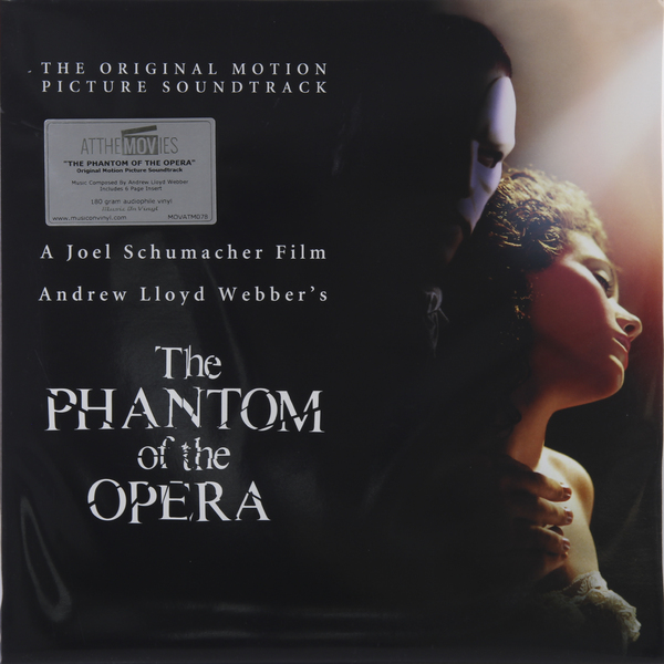 Саундтрек - Phantom Of The Opera (2 Lp, 180 Gr)