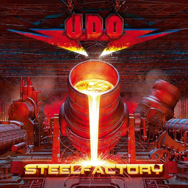 U.. - Steelfactory (2 Lp, Colour)