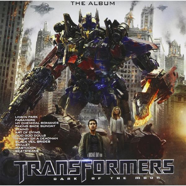 Саундтрек - Transformers: Dark Of The Moon Album (colour)