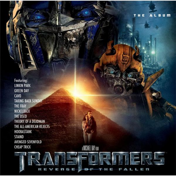 Саундтрек - Transformers: Revenge Of The Fallen Album (2 Lp, Colour)