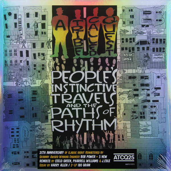 A Tribe Called Quest - Peoples Instinctive Travels And The Paths Of Rhythm (25th Anniversary Edition) (2 LP)