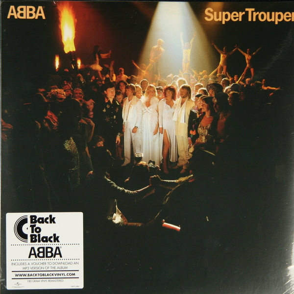 ABBA ABBA - Super Trouper (180 Gr) cd abba the visitors