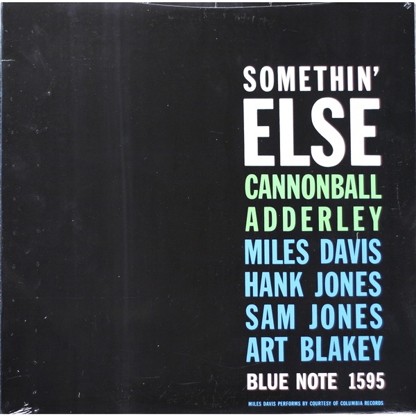 Cannonball Adderley Cannonball Adderley - Somethin' Else кэннонболл эдерли милт джексон cannonball adderley with milt jackson things are getting better