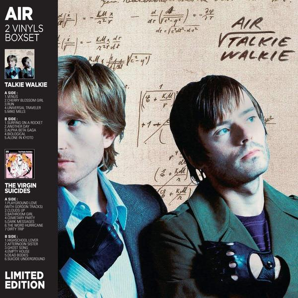 AIR AIR - Talkie Walkie / The Virgin Suicides (2 LP) рация xiaomi walkie talkie 1s mjdjj03fy белый