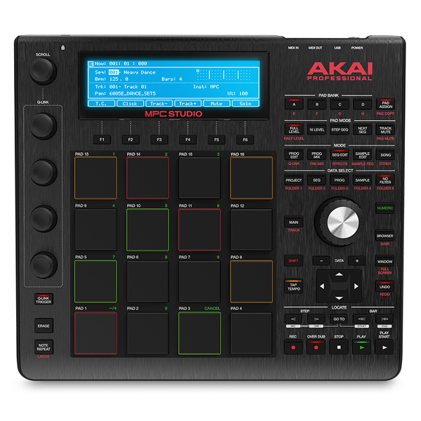 лучшая цена MIDI-контроллер AKAI Professional MPC Studio Black