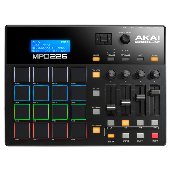 MIDI-контроллер AKAI Professional MPD226
