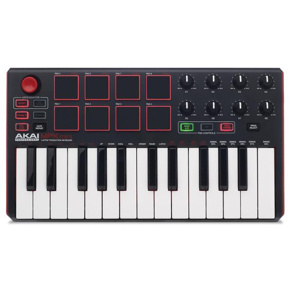 MIDI-клавиатура AKAI Professional MPK mini mkII Black цены