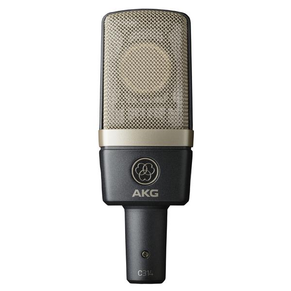 Студийный микрофон AKG C314 микрофон akg p2