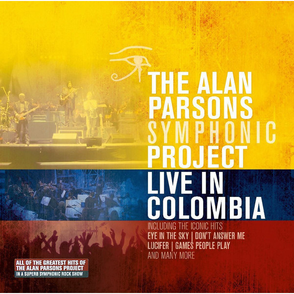 Alan Parsons Project Alan Parsons Project - Live In Colombia (3 LP)