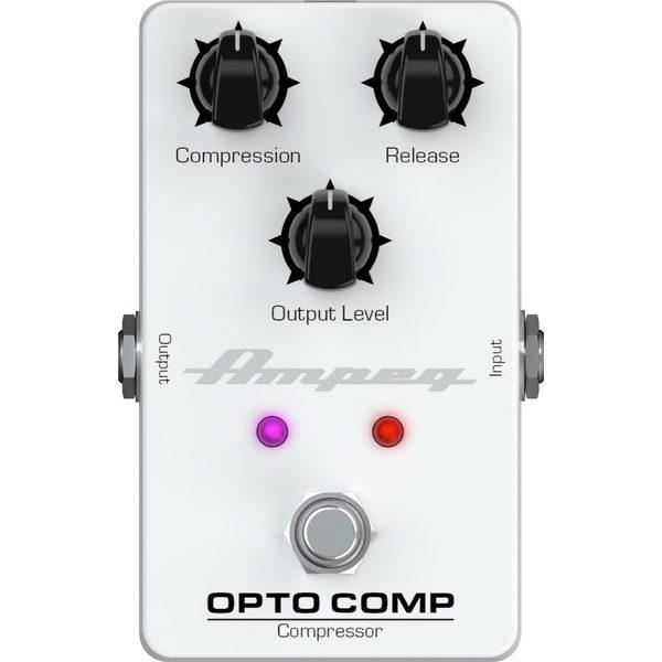 Педаль эффектов Ampeg Opto Comp Bass Compressor