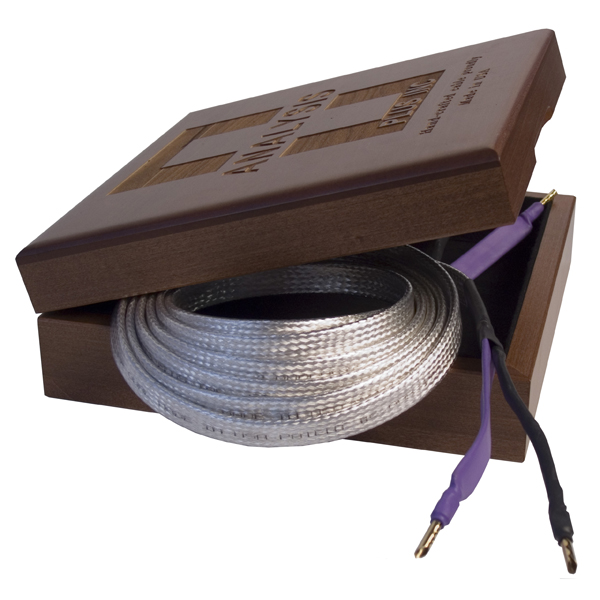 Кабель акустический готовый Analysis-Plus Big Bi-Silver Oval Bi-Wire 12 ft/3.6 m