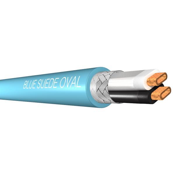 Инструментальный кабель в нарезку Analysis-Plus Blue Suede Oval