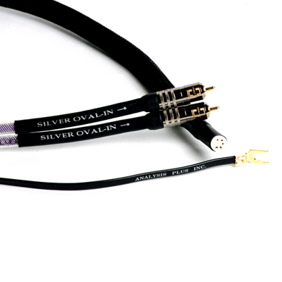 Кабель для тонарма Analysis-Plus Silver Oval Phono Cable 1 m