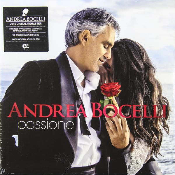 цена на Andrea Bocelli Andrea Bocelli - Passione (2 Lp, 180 Gr)