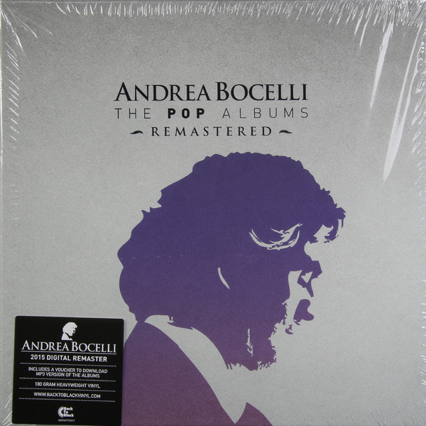 Andrea Bocelli - The Complete Pop Albums (box Set)