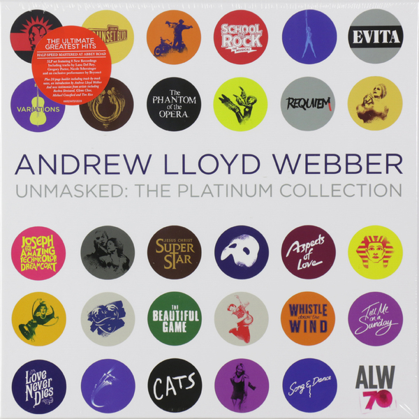 лучшая цена Andrew Lloyd Webber Andrew Lloyd Webber - The Platinum Collection (5 LP)
