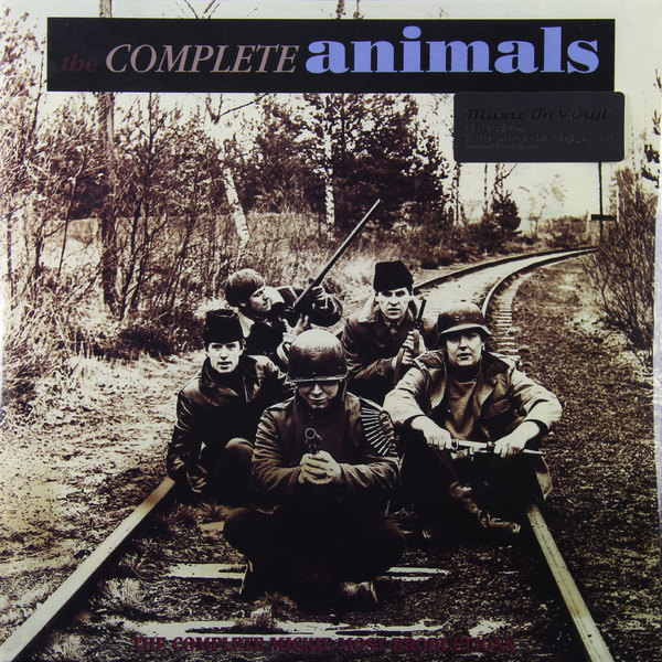 лучшая цена Animals Animals - Complete Animals (3 Lp, 180 Gr)