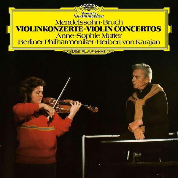 купить Anne-sophie Mutter Anne-sophie Mutter - Mendelssohn: Violin Concerto, Bruch: Violin Concerto No.1 по цене 2180 рублей